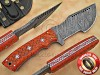 Tom Brown Full Tang Handmade Damascus Steel Tracker Knife DTK1008